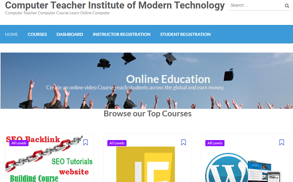Computer teacher institute